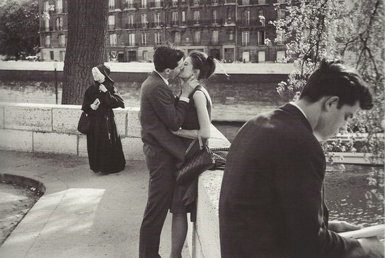 Edouard Boubat - Ile Saint-Louis, Paris, 1975
