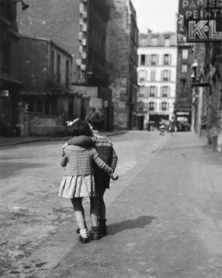 Edouard Boubat - Montmartre, Paris, 1948