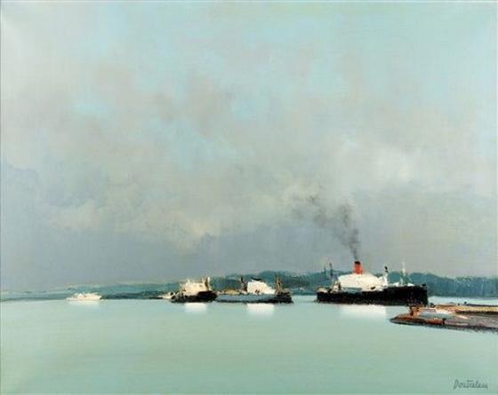 Pierre Doutreleau - Le port