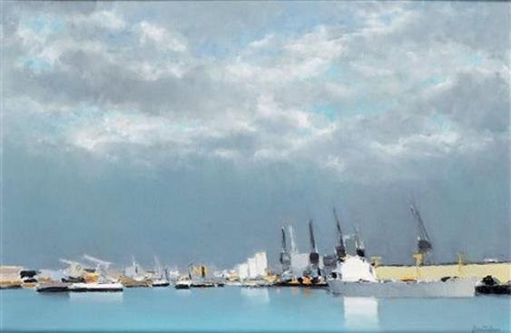 Pierre Doutreleau - Port du Havre
