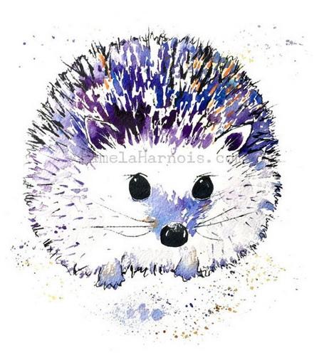 Pamela Harnois - Hedgehog