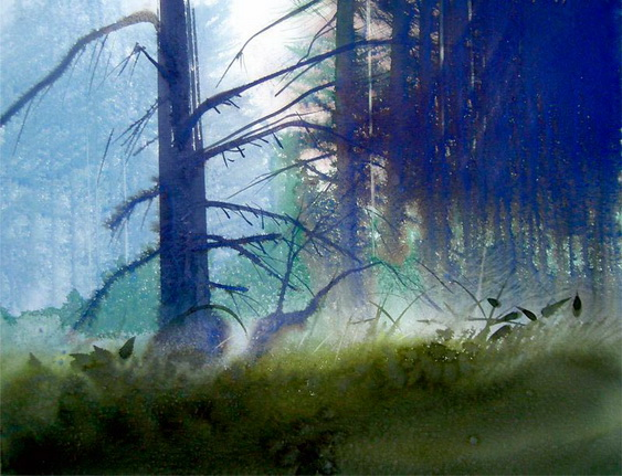 Jean Claude Chaillou - bosque