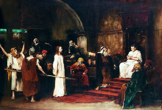 Mihaly Munkacsy - Christ before Pilate