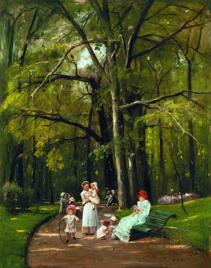 Mihaly Munkacsy - Parc Monceau