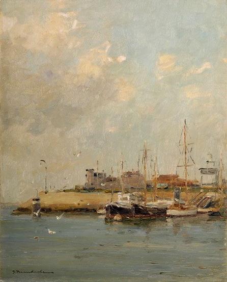 Georg Hambuchen - ibid Fishing port