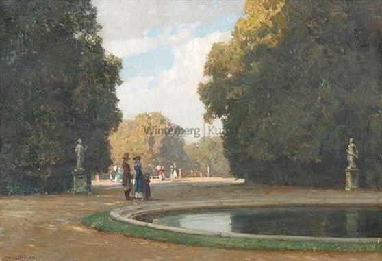 Hermann Gohler - Sonntag im Park