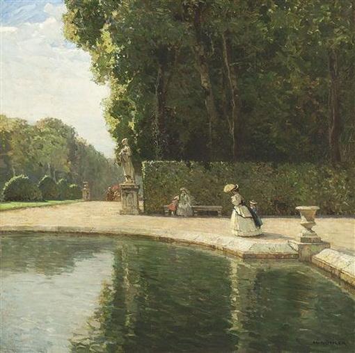 Hermann Gohler - Park von Versailles