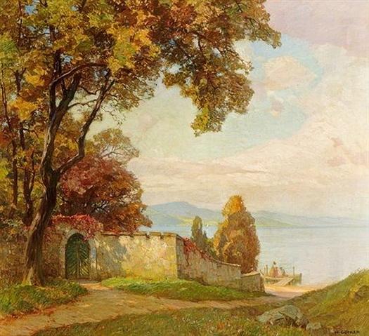 Hermann Gohler - Bei der Schlossmauer