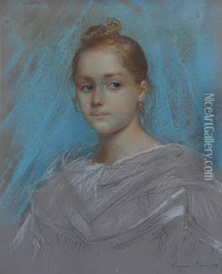 Amerino Cagnoni - Ritratto Di Giovanetta