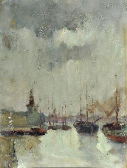 Mose Bianchi - La Dogana, Venice