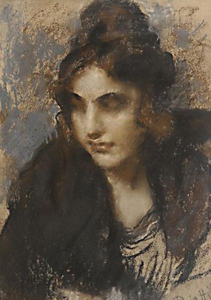 Arturo Rietti - Ragazza