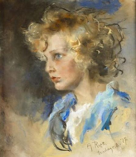 Arturo Rietti - portrait of Roland Bugatti