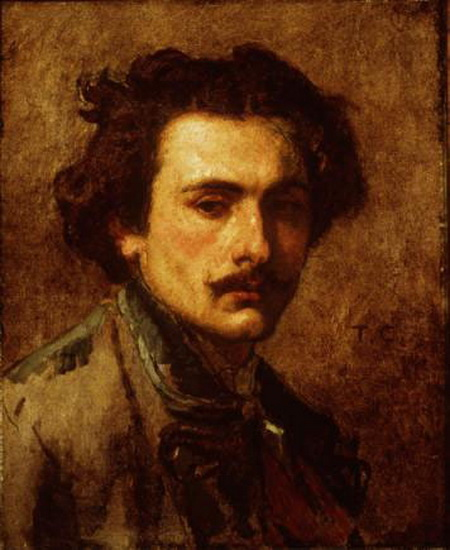 Thomas Couture - Self-portrait