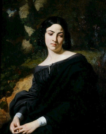 Thomas Couture - A Widow