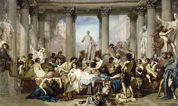 Thomas Couture - Les romains de la decadence