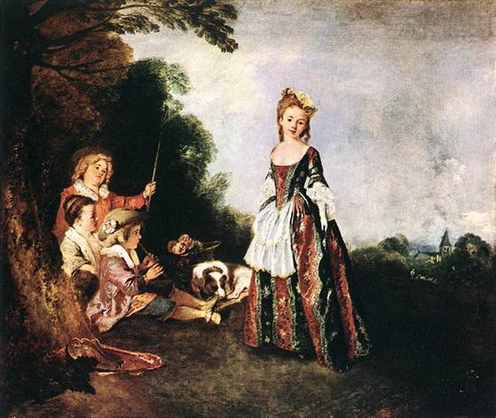 Antoine Watteau - The Dance