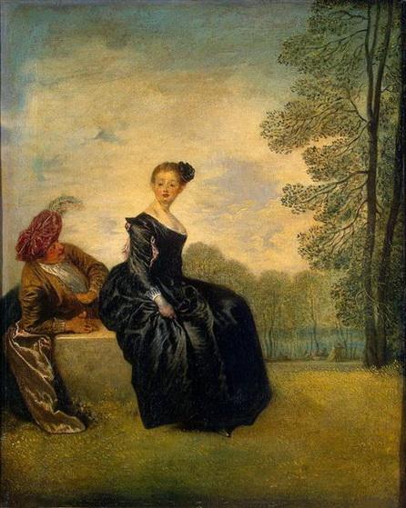 Antoine Watteau - The Capricious Girl