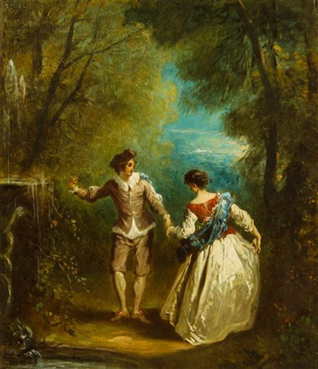 Antoine Watteau - fete galante