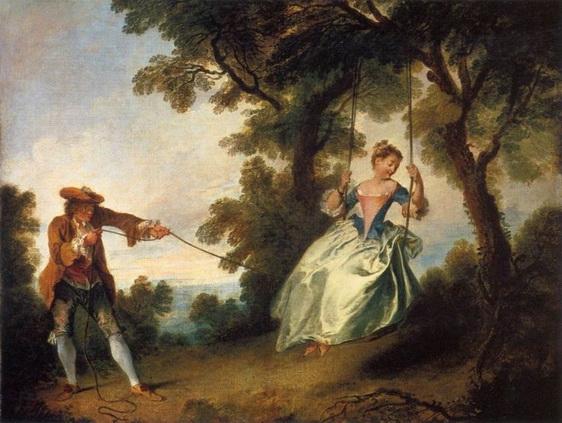 Antoine Watteau - The Swing