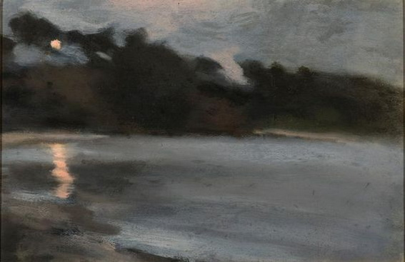 Clarice Beckett - Moonrise