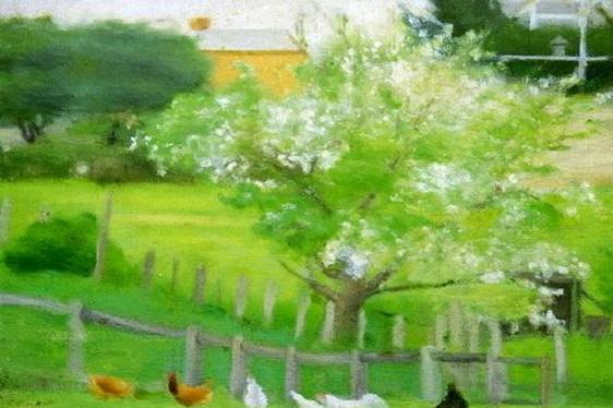 Clarice Beckett - End of the Garden