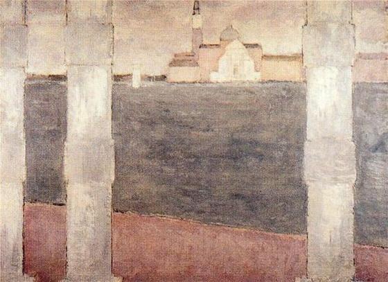 Bernard Cathelin - Venice 5