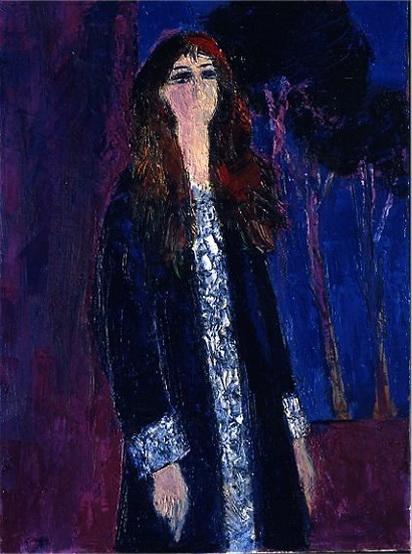 Bernard Cathelin - femme