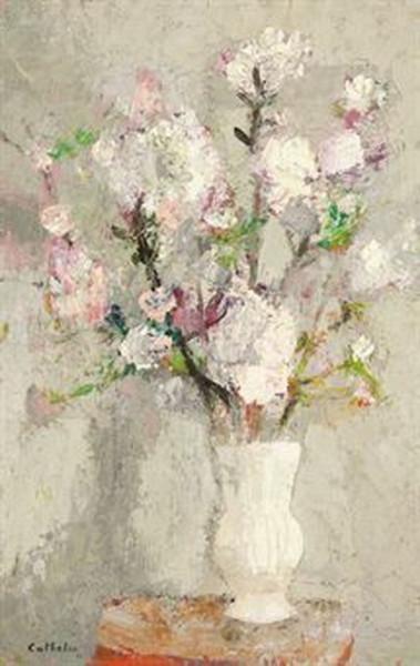 Bernard Cathelin - Branche de pommier