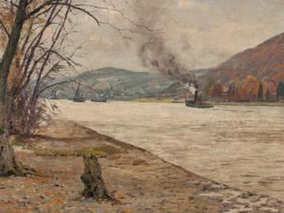 rasenberger alfred -  Autumal Rhine