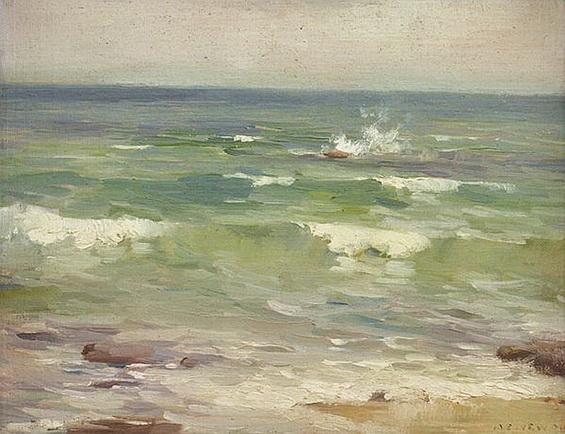 Albert Ernest Newbury - White Caps