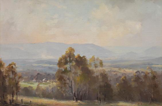 Albert Ernest Newbury - View of the Valley