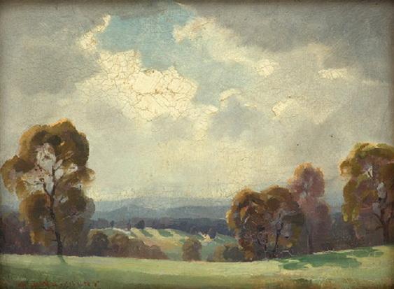 Albert Ernest Newbury - Soft Sunlight
