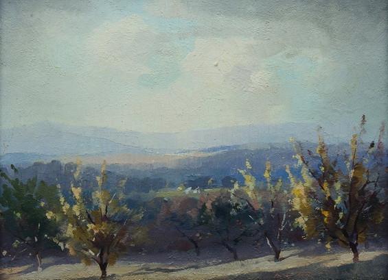 Albert Ernest Newbury - The Orchard