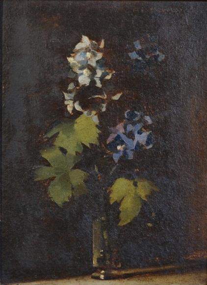 Albert Ernest Newbury - Delphiniums No 1
