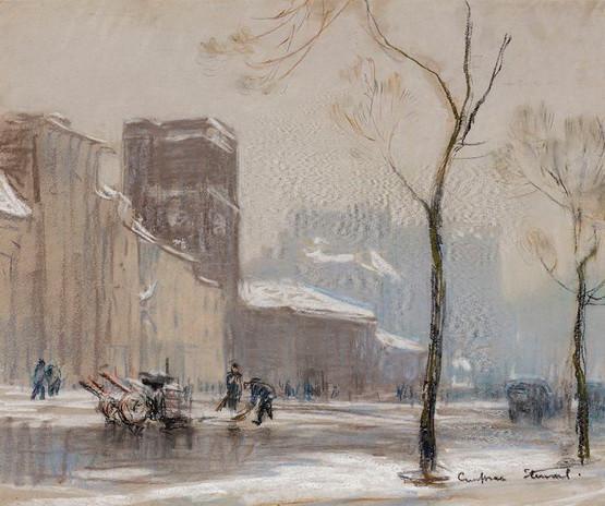 Janet Cumbrae-Stewart - City in Winter