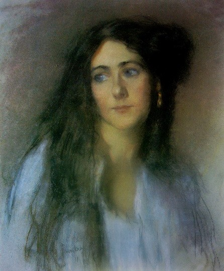 Janet Cumbrae-Stewart - Self Portrait
