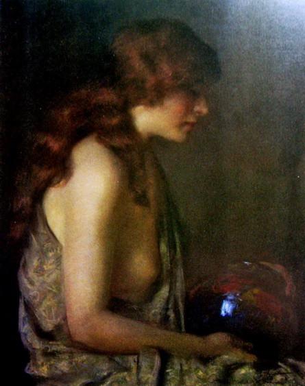 Janet Cumbrae-Stewart - The Blue Vase