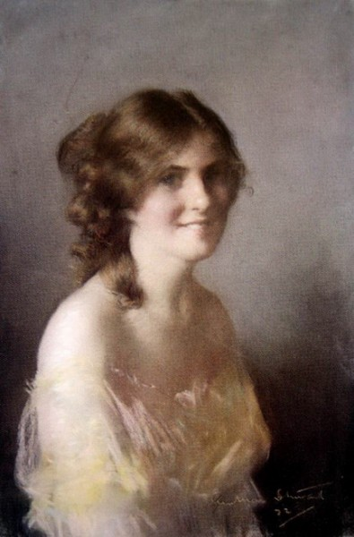 Janet Cumbrae-Stewart - Portrait of a Young Lady