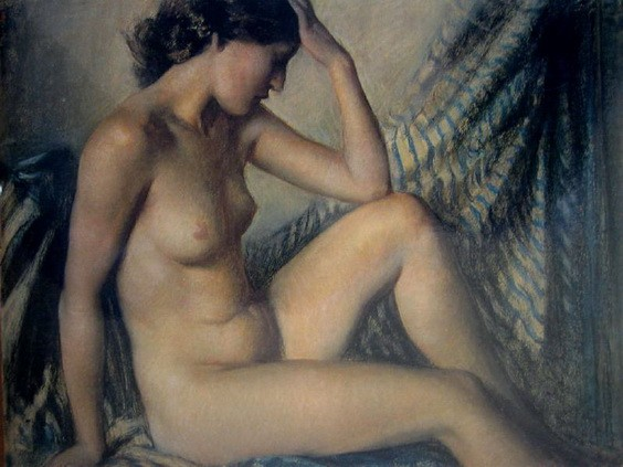 Janet Cumbrae-Stewart - Nude