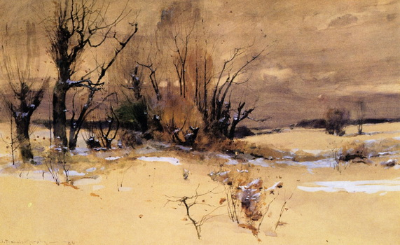 John Francis Murphy - early snow