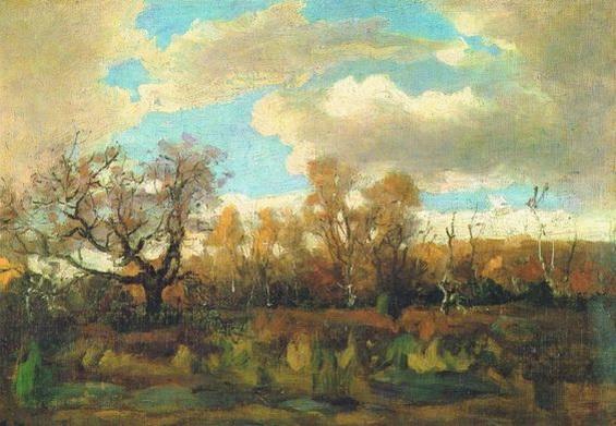 Antonin Chittussi - Осень в Фонтенбло