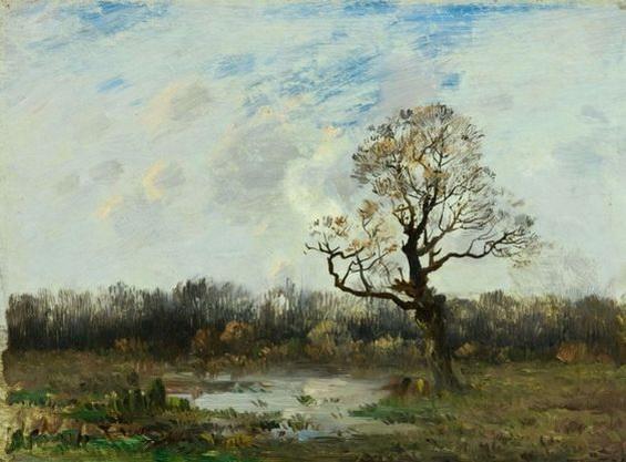 Antonin Chittussi - Landscape Krajina
