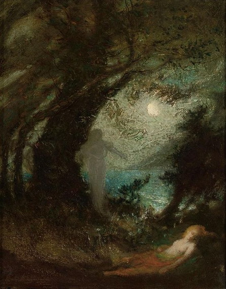 Elliott Daingerfield - spirit of the night.