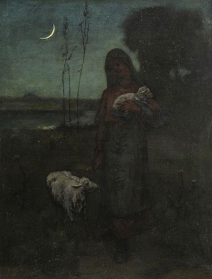 Elliott Daingerfield - Shepherdess