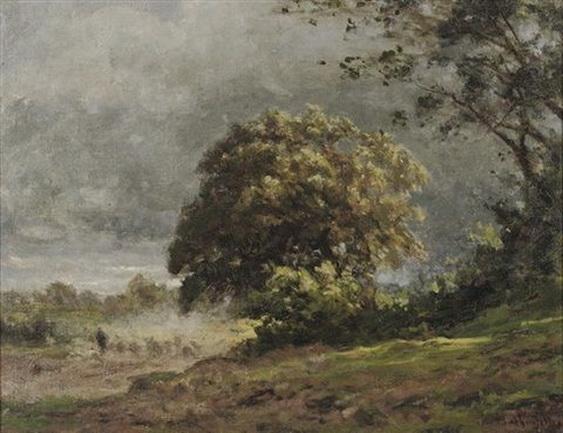 Julius Jacobus Van De Sande Bakhuyzen - Stormy weather