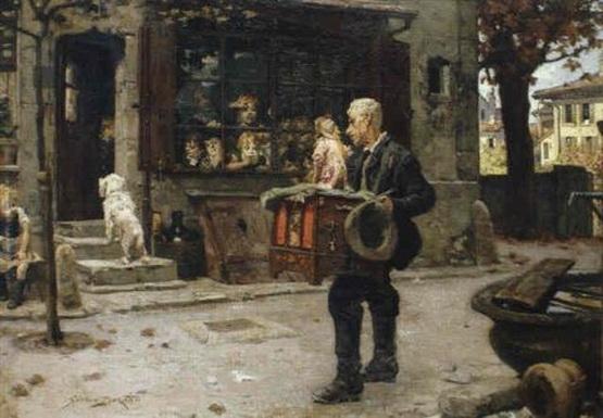 Simon Durand - Joueur d'orgue de barbarie