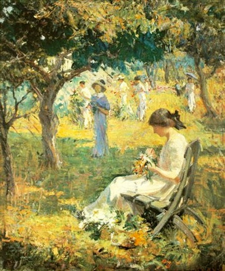Mary Bradish Titcomb - Garden Party