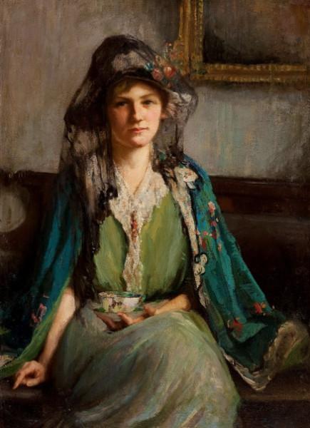 Mary Bradish Titcomb - Afternoon Tea