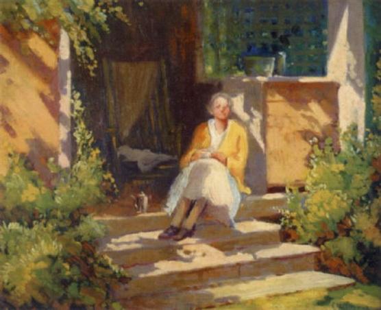 Mary Bradish Titcomb - Morning Coffee