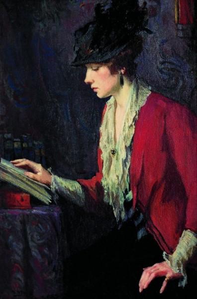 Mary Bradish Titcomb - Lady In A Red Jacket